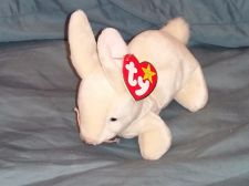 Buy RETRO ORIGINAL TY BEANIE BABY PLUSH NIBBLET BUNNY COLLECTIBLE NICE