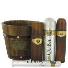 Buy Cuba Gold by Fragluxe Gift Set -- 3.4 oz Eau De Toilette Spray + 1.17 oz Eau De Toile