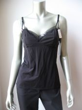 Buy X380CM Elle Macpherson Intimates NEW E19-673 Black Women's Vamp Camisole XL PR