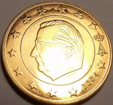Buy Gem Unc Belgium 2004 5 Euro Cents~Minted In Brussels~Free Ship