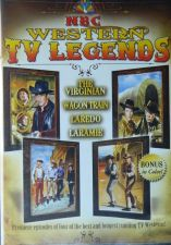 Buy NBC WESTERN TV LEGENDS - 4hrs on DVD - The VIRGINIAN,LARAMIE,WAGON TRAIN,LAREDO