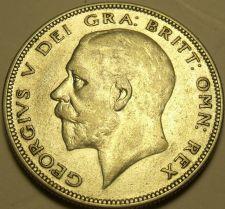 Buy Silver Great Britain 1935 Half Crown~King George V~Quartered Shield~Free Ship