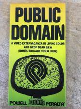 Buy Powell Peralta PUBLIC DOMAIN VHS VCR NTSC tape Skateboarding Bones Brigade 1988