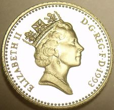 Buy Gem Cameo Proof Great Britain 1993 5 Pence~Only 100,000 Minted~Free Shipping