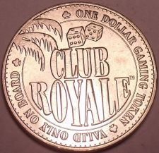 Buy Unc Club Royale $1.00 Gaming Token~The Ship That Sank After 1 Month~Free Ship