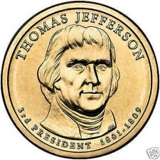 Buy GEM BU THOMAS JEFFERSON 2007-P DOLLAR~FREE SHIP~NICE~