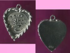 Buy Vintage Sterling Heart Charm For Mother Special Occasion Marked EA 925
