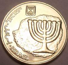 Buy Gem Brilliant Unc Israel 2013 10 Arogot~Menorah~Hanukkah Coin~Free Shipping