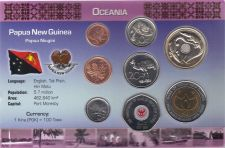 Buy Papua New Guinea 8 coin set
