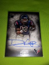 Buy NFL 2013 Topps Inception DEVIER POSEY TEXANS AUTOGRAPHED ROOKE #123 MNT