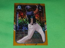 Buy MLB Austin Wilson Mariners SUPERSTAR 2015 BOWMAN CHROME GOLD MINI REFRACTOR MNT