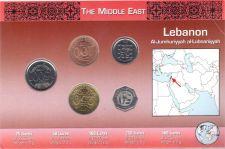 Buy Lebanon 5 Coin Set