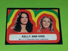 Buy VINTAGE 1977 CHARLIES ANGELS TELEVISION SERIES COLLECTORS STICKER CARD #43 GD-VG