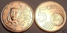 Buy BRILLIANT UNC FRANCE 2002 5 EURO-CENTS~~FREE SHIPPING~~