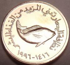 Buy Gem Unc United Arab Emirates AH1416 (1996) F.A.O. Issue 5 Fils~Fish~Free Ship