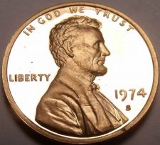 Buy PROOF 1974-S LINCOLN CENT~UPGRADE YOUR COLLECTION~FR/SH