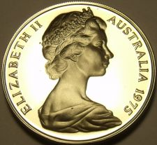 Buy Rare Proof Australia 1975 10 Cents~Lyre Bird~23,000 Minted~Free Shipping