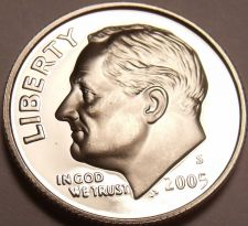 Buy United States Proof 2005-S Roosevelt Dime~Free Shipping