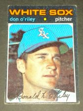 Buy VINTAGE DON O'RILEY WHITE SOX 1971 TOPPS #679 GD-VG