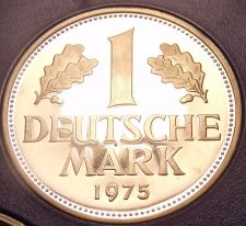 Buy Cameo Proof Germany 1975-F Mark~Minted In Stuttgart~43,000 Minted~Free Shi
