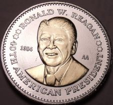 Buy Historic Mint Double Eagle Ronald Reagan Commemorative Medallion~Free Shipping
