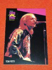 Buy RETRO TOM PETTY 1992 PROSET ROCK & ROLL COLLECTORS CARD #218 MNT