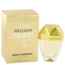 Buy Lady Million Eau My Gold by Paco Rabanne Eau De Toilette Spray 1.7 oz (Women)