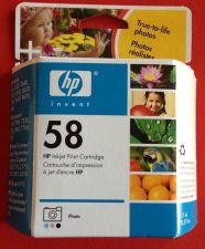 Buy 58 photo color ink HP PSC 2510 2410 2210 2175 2110 1350 printer scanner copier