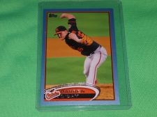 Buy MLB Darren O'Day Orioles SUPERSTAR 2012 TOPPS BLUE BORDER BASEBALL MNT