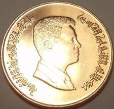 Buy Gem Unc Jordan 2000 1 Qirsch(Piastre)~King Abdullah II~Free Shipping