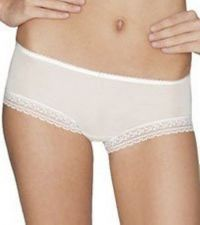 Buy A088B ELLE MACPHERSON INTIMATES Vamp White Embroidery Lace Boyshort E13-673 New