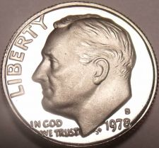 Buy United States 1978-S Proof Roosevelt Dime~See All Our Proof Coins~Free Shipping
