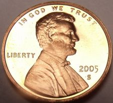 Buy United States Proof 2005-S Lincoln Memorial Cent~Free Shipping~We Have Proofs~