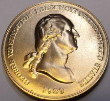 Buy Large 33.6mm Gem Unc George Washingon United States Mint Medallion~Free Shipping