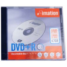Buy Imation 8X DVD+R 4.7GB Recordable Disc With Case -17087, 10 Pack