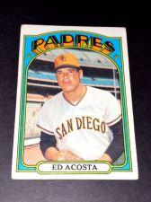 Buy VINTAGE ED ACOSTA RADRES 1972 TOPPS #123 GD-VG