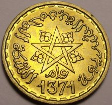 Buy Gem Unc Morocco AH-1371 (1952) 10 Francs~Excellent~Free Shipping