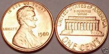 Buy 1980-P BRILLIANT UNCIRCULATED LINCOLN CENT~~FREE SHIP~~