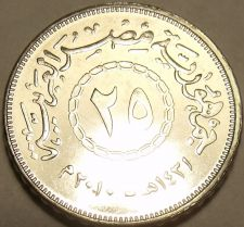Buy Gem Unc Egypt 2008 25 Piastres~Excellent~Free Shipping
