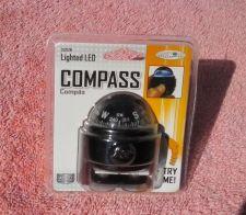 Buy LED Lighted Compass Dashboard Dash Mount Navigation Car Truck Boat Marine Black