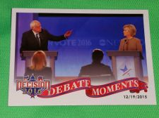 Buy 2016 Presidential Decision Sanders /clinton debate Collectible Trading Card MNT