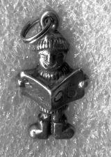 Buy Vintage Charm : E.F.S. (Mexico) Sterling - Xmas 1996 - Christmas Caroller