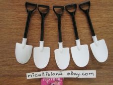 Buy Lot of 5 Shovels Spoons Scoops Party Favor Gift for Dig in Ben & Jerry Ice Cream