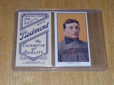 Buy MLB HONUS WAGNER PIEDMONT 150 SUBJECT BACK REPRINT GD-VG