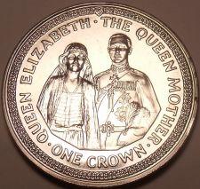 Buy Massive Gem Unc Isle Of Man 1985 Crown~The Royal Wedding Couple~Free Shipping~