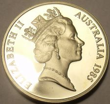 Buy Cameo Proof Australia 1987 5 Cents~Echidna~70,000 Minted~Free Shipping