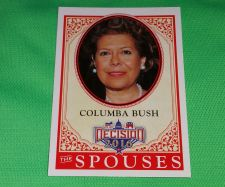 Buy 2016 Presidential Decision Columba Bush spouses Collectible Trading Card MNT