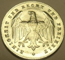 Buy Rare Gem Unc Germany Weimar Republic 1923-G 200 Mark~Awesome Eagle~Free Shipping