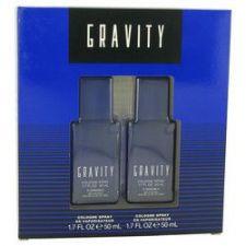 Buy GRAVITY by Coty Gift Set -- Two 1.7 oz Cologne Sprays (Men)
