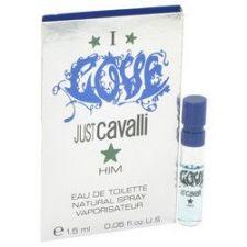 Buy I love him by Roberto Cavalli Vial (Sample) .05 oz (Men)